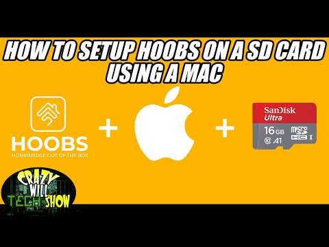 How to setup Hoobs on a SD card using a Mac for raspberry pi