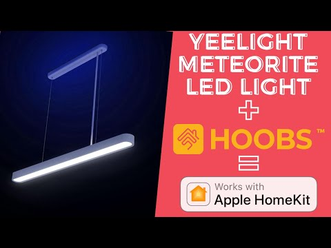 Yeelight Meteorite LED YLDL01YL Full Control in Apple HomeKit