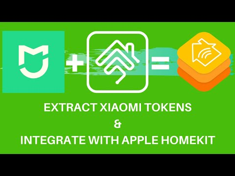 How to Extract Xiaomi Tokens in 7 Steps and integrate devices in Apple Homekit