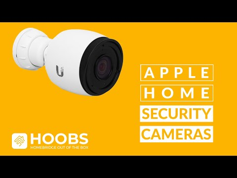 How to Configure Apple Home Security Cameras with HOOBS