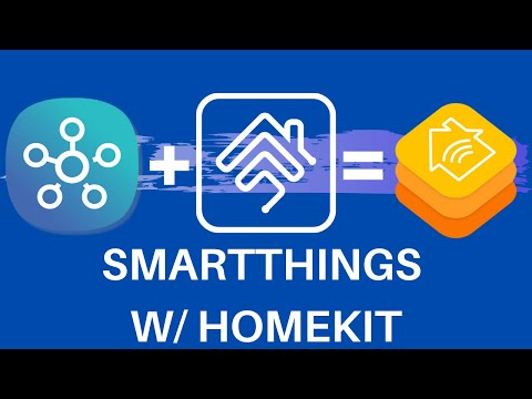 Smartthings hub in Apple HomeKit