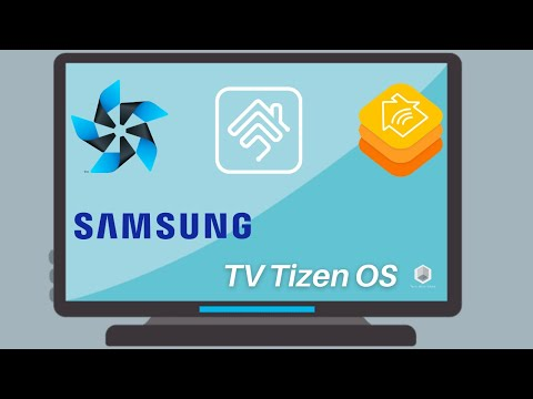 Samsung TV with Tizen OS in Apple HomeKit with Full control