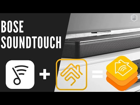 Bose Soundtouch 300 Series Full Control in Apple HomeKit