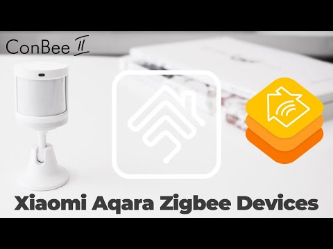 Pair Xiaomi Aqara Sonoff Zigbee devices using Conbee II in Apple HomeKit