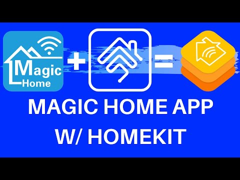 Magic Home App devices in Apple HomeKit